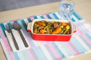 Vegetable Stew  ( v / with meat)