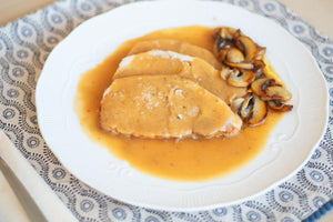 Pork Loin with Mushrooms and Porto Sauce