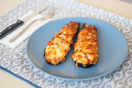 Tuna-Stuffed Courgettes