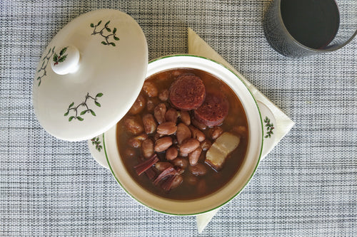 Pinto bean stew with chorizo