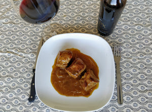 Pork fillet in Pedro Ximenez sauce