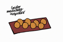 Load image into Gallery viewer, Cocido madrileño croquettes (8 units)