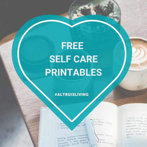 Stay At Home Self Care Printables