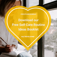 Self care routine ideas booklet