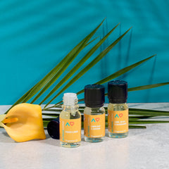 Our fine fragrance oils are high quality, strong perfume level. 10ml glass bottles