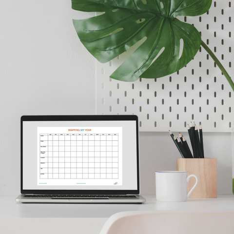 Download your free year mapping template