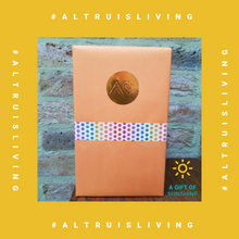 Load image into Gallery viewer, Leather Mantra Band / Essential Oil Diffuser Bracelet - You Are Enough (Copper) - Mantra Jewellery - Altruis Living
