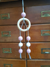 Load image into Gallery viewer, Felt Ball Dream Catcher Aromatherapy Diffuser Custom Colour - Home & Car Diffuser / Freshner - Altruis Living