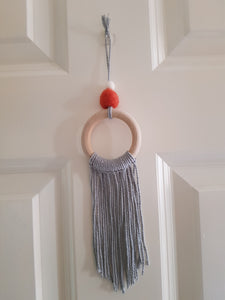 Felt Ball Macramé Dream Catcher Aromatherapy Diffuser Custom Colour - Home & Car Diffuser / Freshner - Altruis Living
