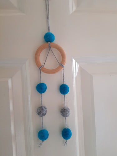 Felt Ball Dream Catcher Aromatherapy Diffuser Custom Colour - Home & Car Diffuser / Freshner - Altruis Living
