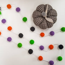 Load image into Gallery viewer, Halloween Felt Ball Garland Aromatherapy Diffuser - Home & Car Diffuser / Freshner - Altruis Living