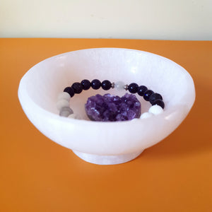 Selenite Cleansing Bowl - Crystals and Gemstones - Altruis Living