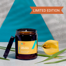 Load image into Gallery viewer, Pink Fizz & Grapefruit Massage Candle - Natural Plant Wax - Candles - Altruis Living