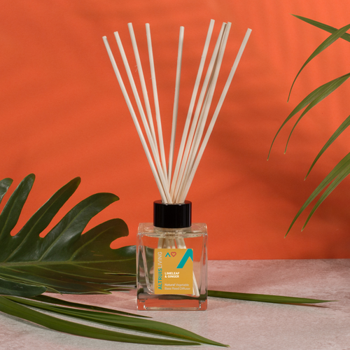 Limeleaf & Ginger Reed Diffuser 100ml - Reed Diffuser - Altruis Living