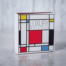 Load image into Gallery viewer, Luxury Long Matches in designer box Mondrian design - Candle Tools - Altruis Living