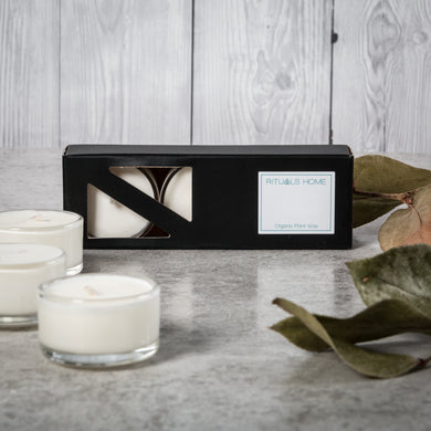 Lime, Basil & Mandarin Soy Tealights - Candles - Rituals Home