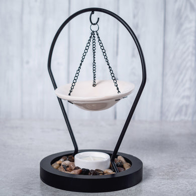 Hanging Metal & Ceramic Oil Burner - Oil Burner - Rituals Home