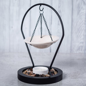 Hanging Metal & Ceramic Oil Burner - Oil Burner - Altruis Living