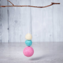 Load image into Gallery viewer, Felt Ball Aromatherapy Car Diffuser Pastels - Home & Car Diffuser / Freshner - Altruis Living