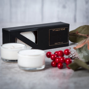Christmas Collection - Nutmeg, Orange & Cinnamon Soy Tealights - Candles - Rituals Home