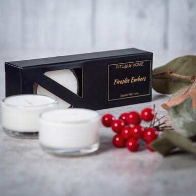 Christmas Collection - Fireside Embers Soy Tealights - Candles - Rituals Home