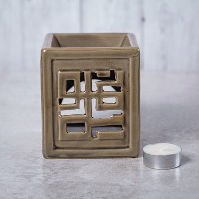 Oriental Ceramic Oil Burner (Light Brown) - Oil Burner - Rituals Home