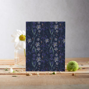 Spring Garden Blue Shades Plantable Seed card - Greetings Cards - Altruis Living