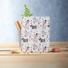 Load image into Gallery viewer, Pooch dog Pattern Plantable Seed card - Greetings Cards - Altruis Living