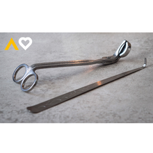 Load image into Gallery viewer, Candle Wick Trimmer & Dipper Tool Set - Candle Tools - Altruis Living