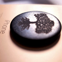 Load image into Gallery viewer, Shungite EMF Protection Plate for Mobile Phones - Tree of Life - Crystals and Gemstones - Altruis Living