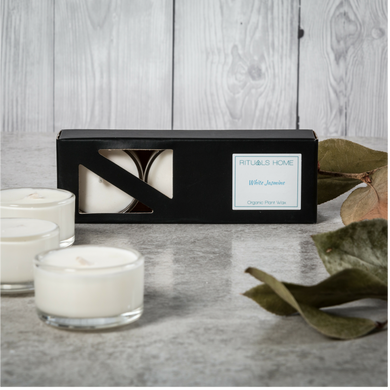White Jasmine Soy Tealights - Candles - Rituals Home
