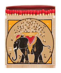 Luxury Long Matches in designer box Elephant design - Candle Tools - Altruis Living