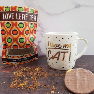 I Love My Cat Fine China Mug - Drinkware - Altruis Living