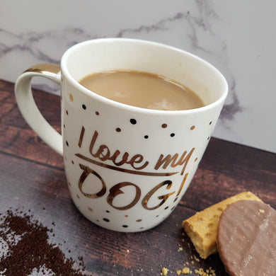 I Love My Dog Fine China Mug - Drinkware - Rituals Home