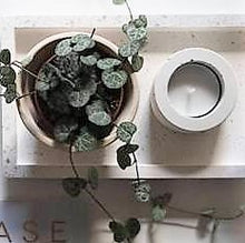 Load image into Gallery viewer, White Concrete Tealight Holder - Candle Holder - Altruis Living