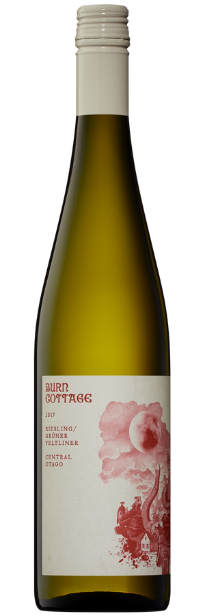 Burn Cottage Vineyard Riesling Gruner Veltliner 2017