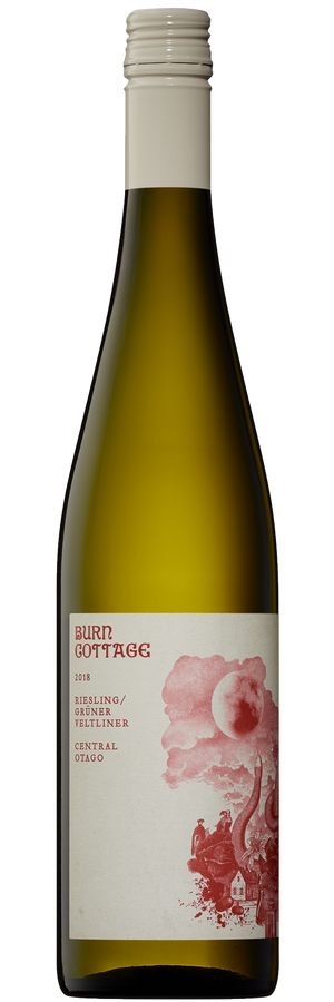 Burn Cottage Vineyard Riesling Grüner Veltliner 2018