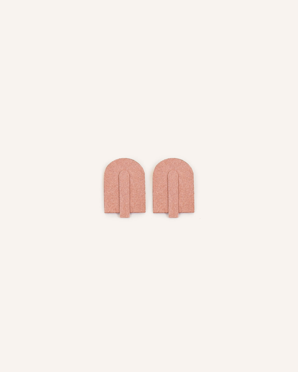 Primrose Manele Earrings in Genuine Italian Suede