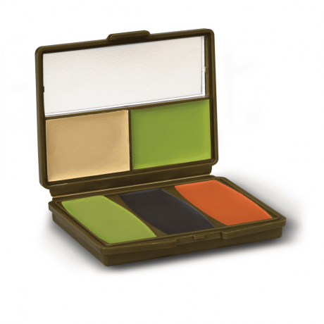 Hunters Specialties Camo-Compac® 5 Color Military Woodland Makeup Kit