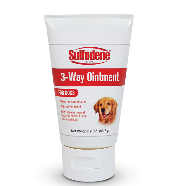 Sulfodene 3-Way Ointment for Dogs for Hot Spots