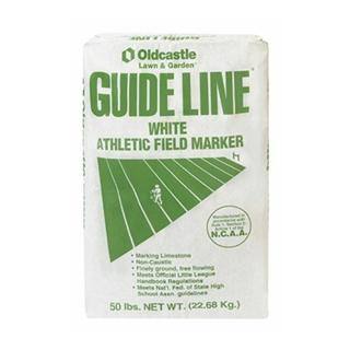 Guide Line White Athletic Field Marker 50lb
