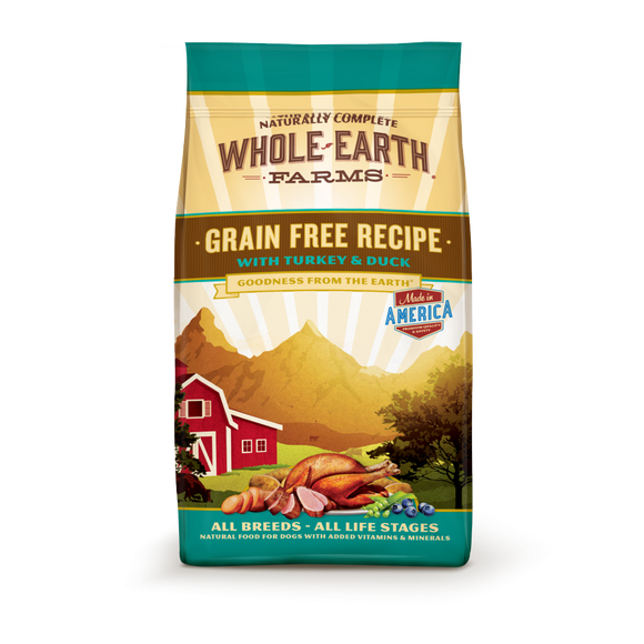 Whole Earth Farms Grain Free Recipe with Turkey and Duck Dry Dog Food