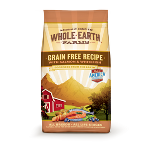 Whole Earth Farms Grain Free Recipe Salmon and Whitefish Dry Dog Food