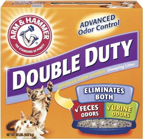 Arm & Hammer Double Duty Advanced Odor Control Clumping Cat Litter