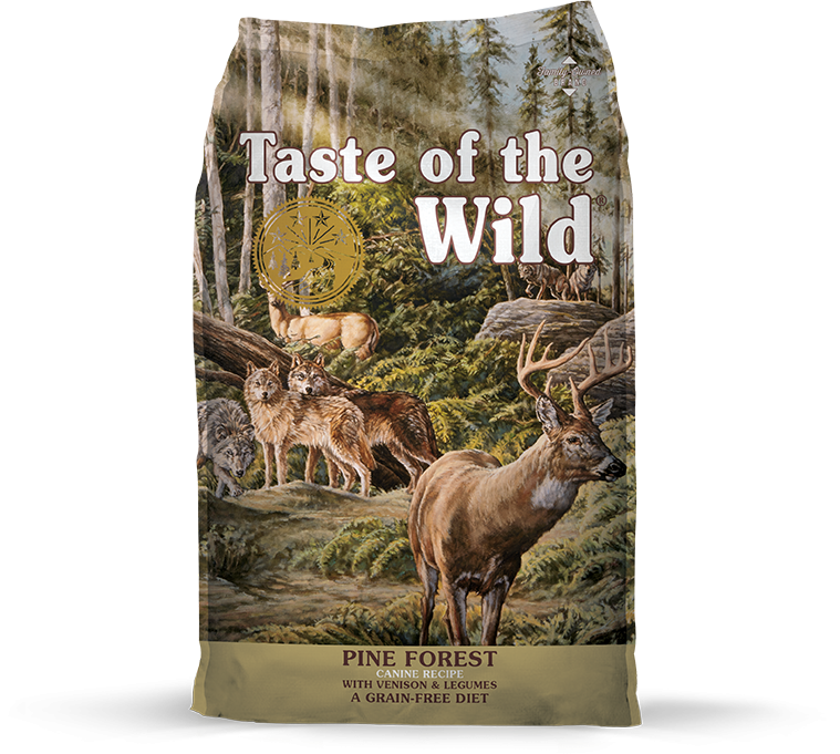 Taste Of The Wild Grain Free Pine Forest Recipe Dry Dog Food