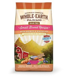 Whole Earth Farms Grain Free Small Breed Recipe with Salmon and Whitefish Dry Dog Food