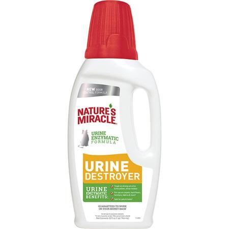 Nature's Miracle New Odor Control Formula Urine Destroyer for Cats