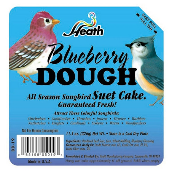 HEATH BLUEBERRY DOUGH SUET CAKE