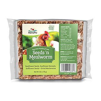 Seeds 'N Mealworm Gourmet Poultry Treat