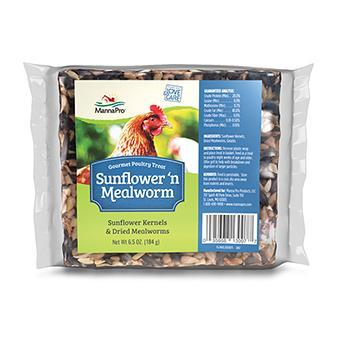 Sunflower'N Mealworm Gourmet Poultry Treat